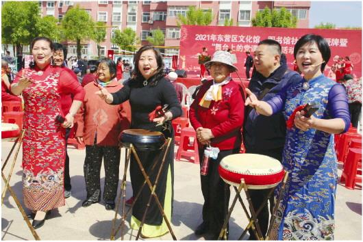 山東東營:京韻大鼓傳習社演繹京劇《長徵》