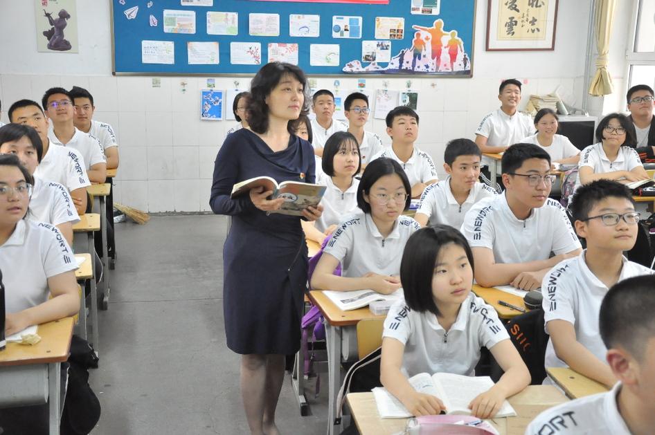李晓蕾:奉献成就学生 爱心涵养未来
