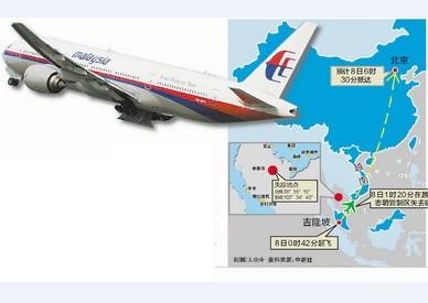 失聯飛機MH370你去哪了?
